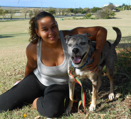 Shenell-Gordon w/ Kudo-Pawsitive-Living-VI