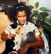 Shenell With Cats