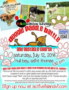 Doggy Paddle Battle - sponsored by Pawsitive Living